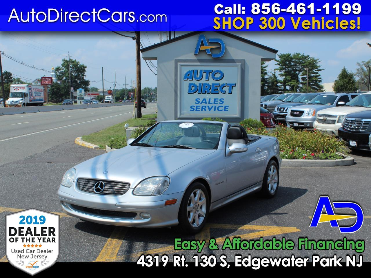 2003 Mercedes-Benz SLK-Class 2dr Kompressor Roadster 2.3L