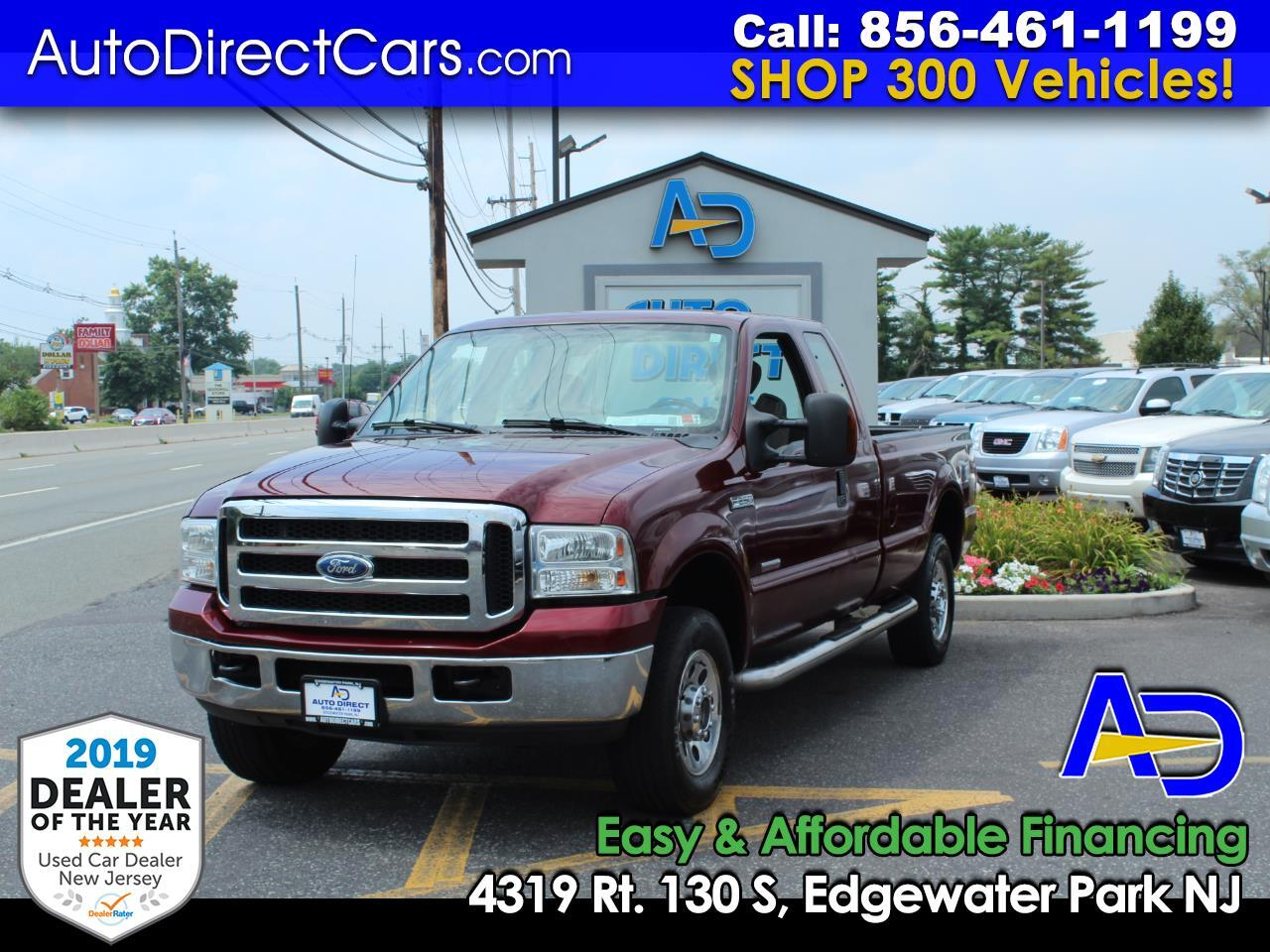 "2007 Ford Super Duty F-250 4WD SuperCab 142"" XLT"