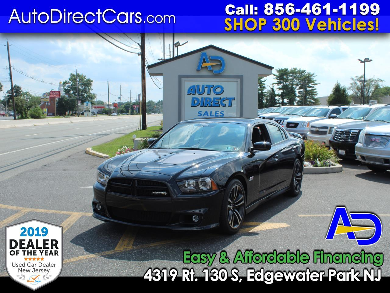 2012 Dodge Charger 4dr Sdn SRT8 Super Bee RWD