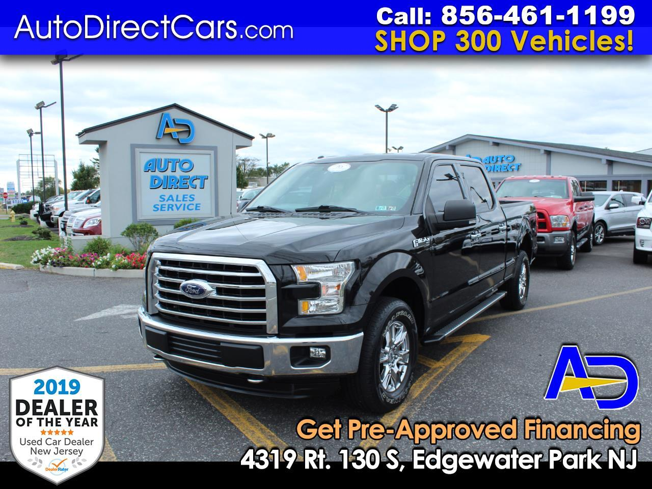 """2015 Ford F-150 4WD SuperCrew 157"""" Lariat w/HD Payload Pkg"""