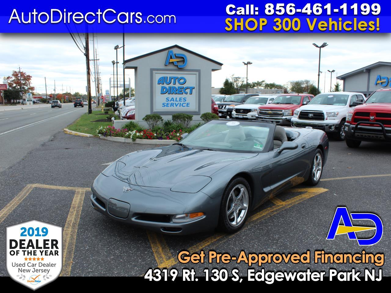 2003 Chevrolet Corvette Convertible 60th Anniversary