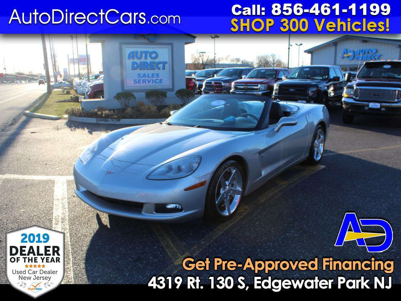 2005 Chevrolet Corvette 2dr Stingray Z51 Conv w/3LT