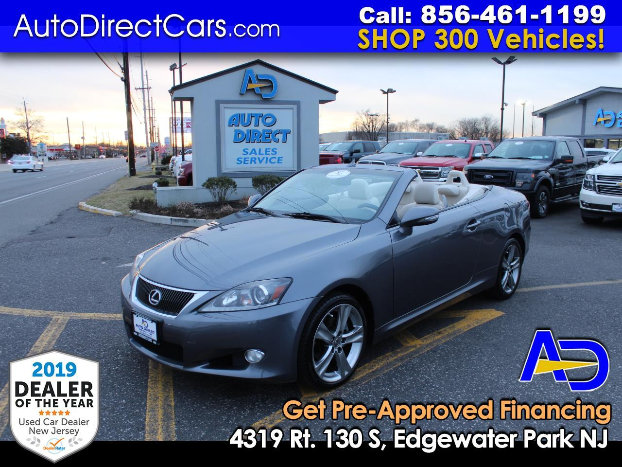 2012 Lexus IS 250C 2dr Conv Auto
