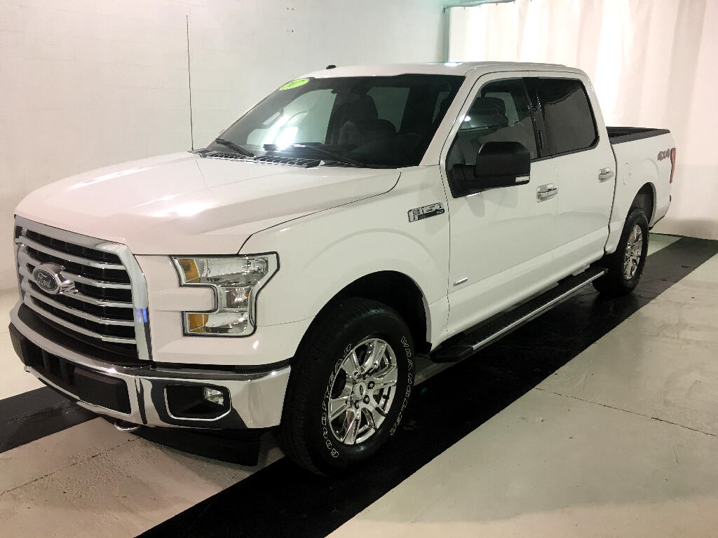 2017 Ford F-150 XLT SuperCrew Short Bed 4WD