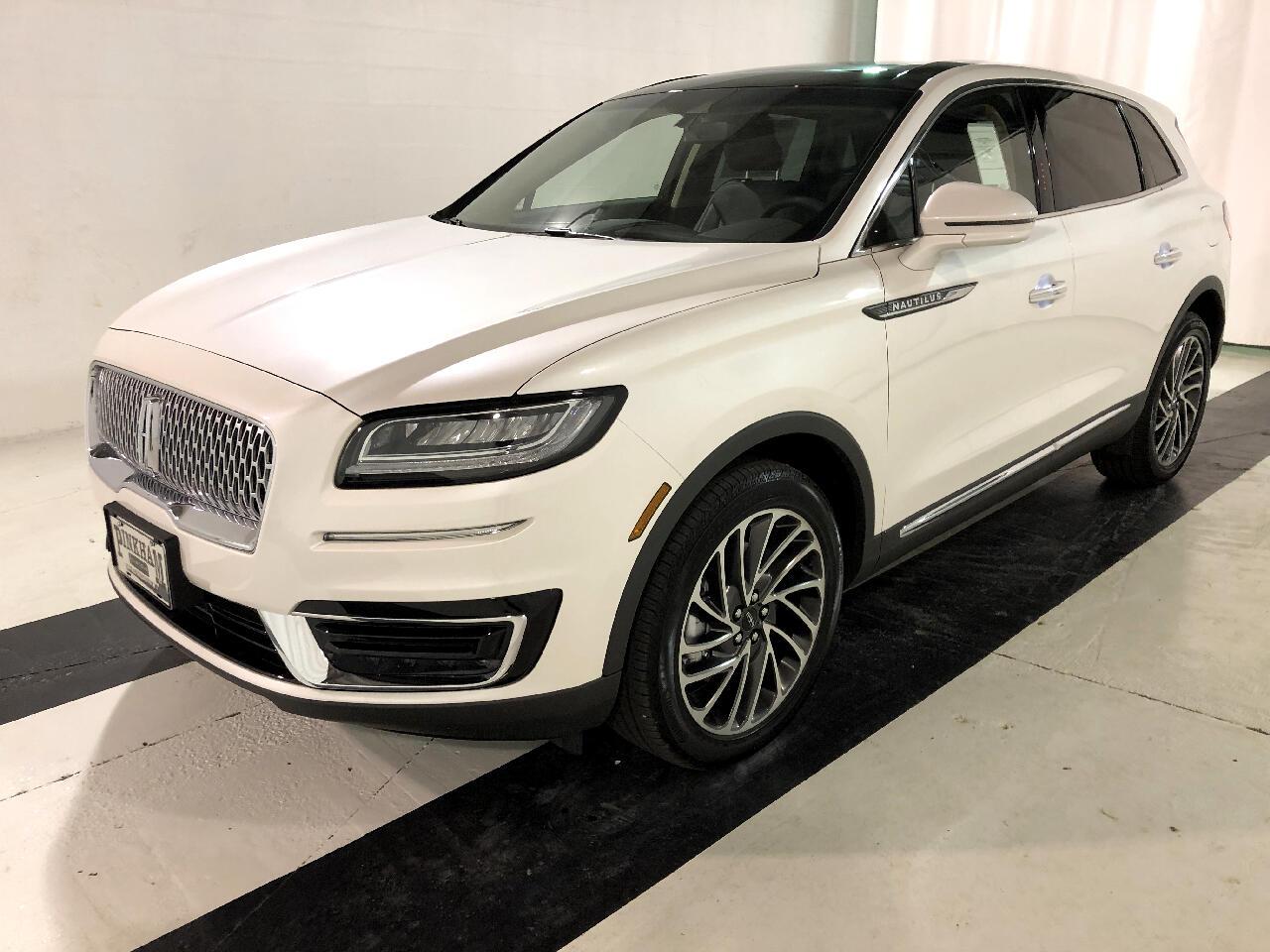 2019 Lincoln Nautilus AWD Reserve