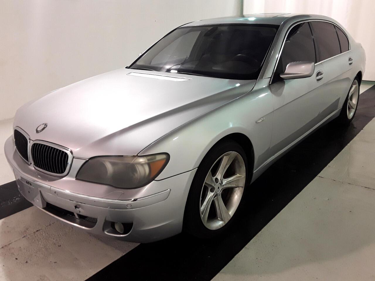 2006 BMW 7 Series 750Li 4dr Sdn