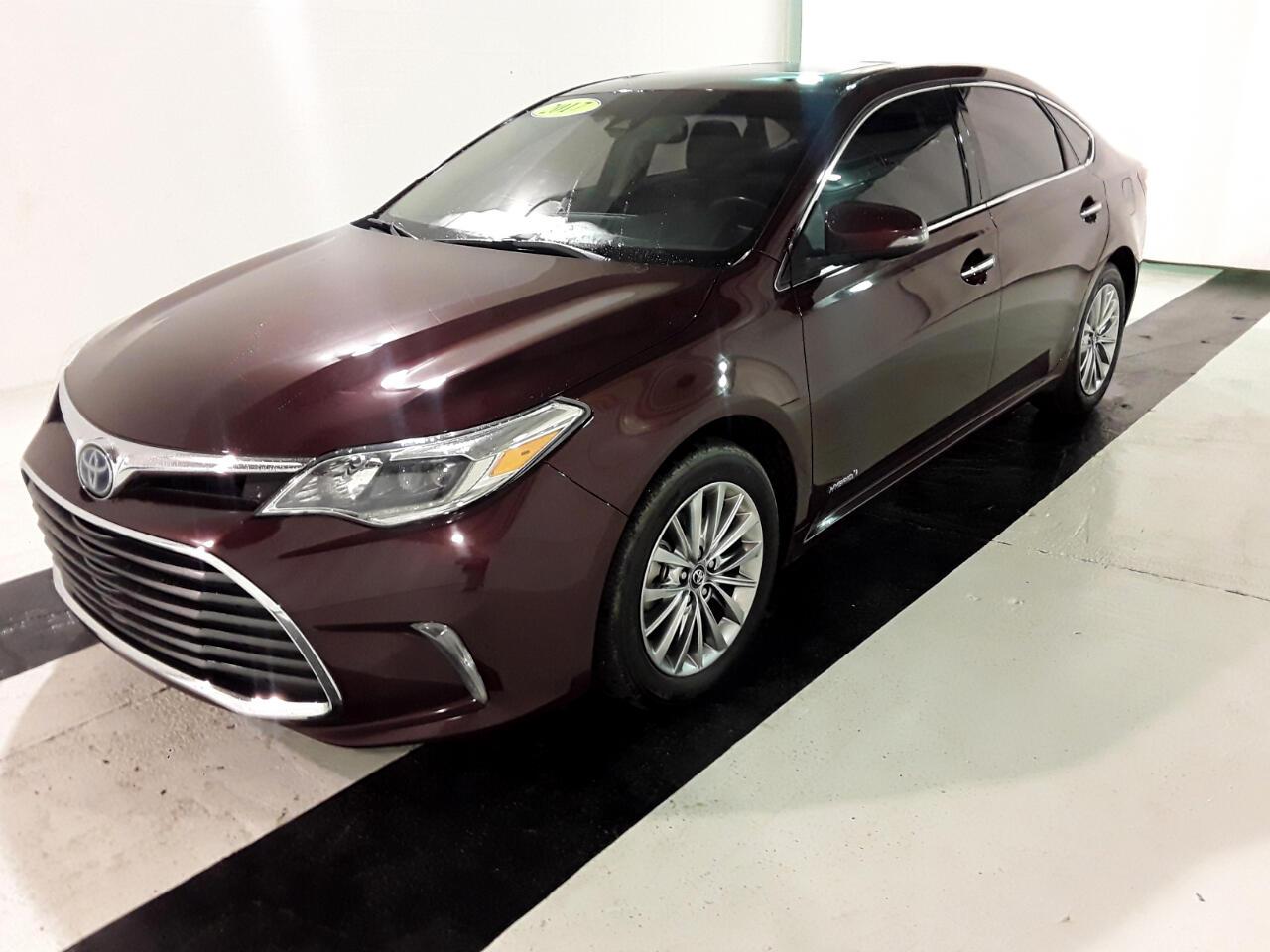 2017 Toyota Avalon Hybrid Limited (Natl)