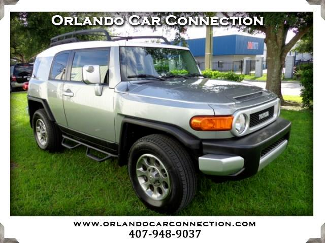 2012 Toyota FJ Cruiser 4WD AT
