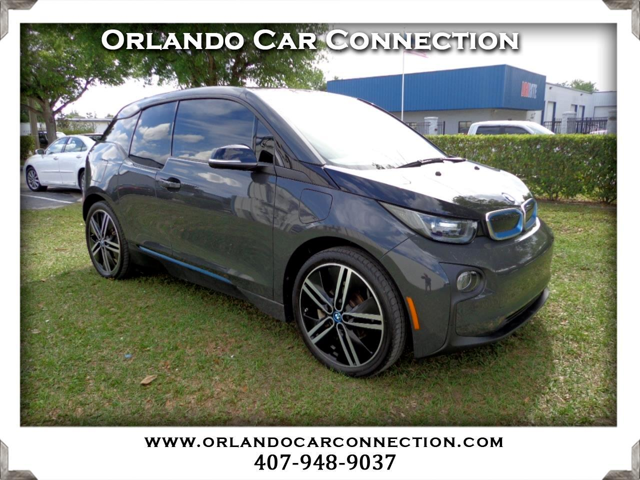 2015 BMW i3 4dr HB w/Range Extender