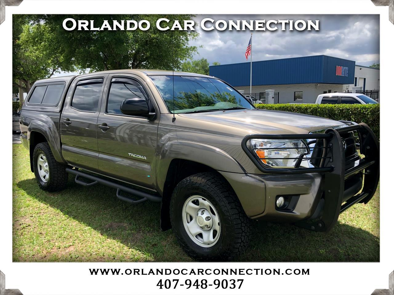 2015 Toyota Tacoma Double Cab V6 Automatic Shortbed TRD Off Road 4WD