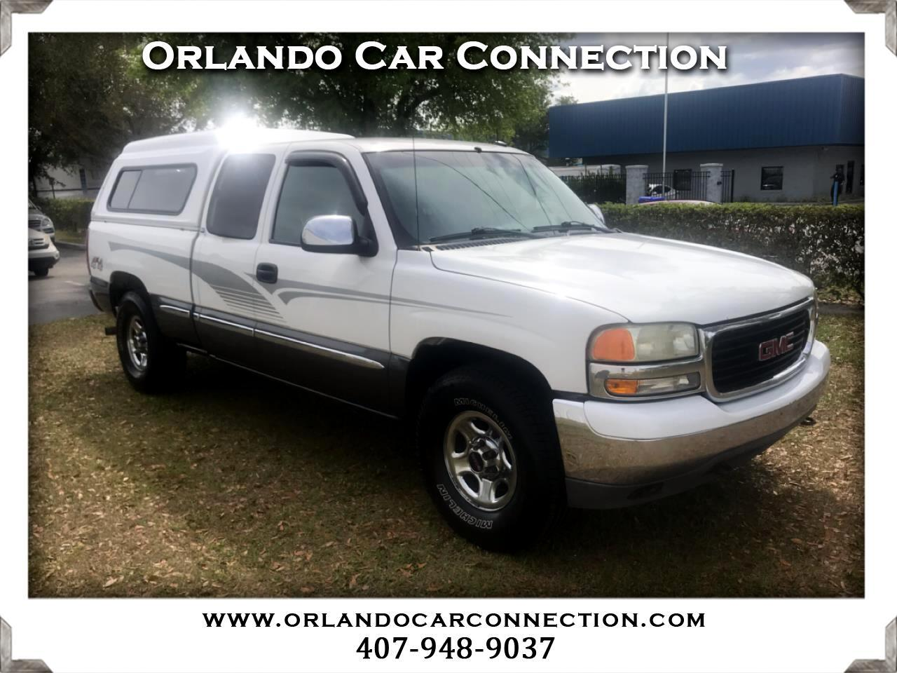 GMC Sierra SL Ext. Cab Long Bed 4WD 2002