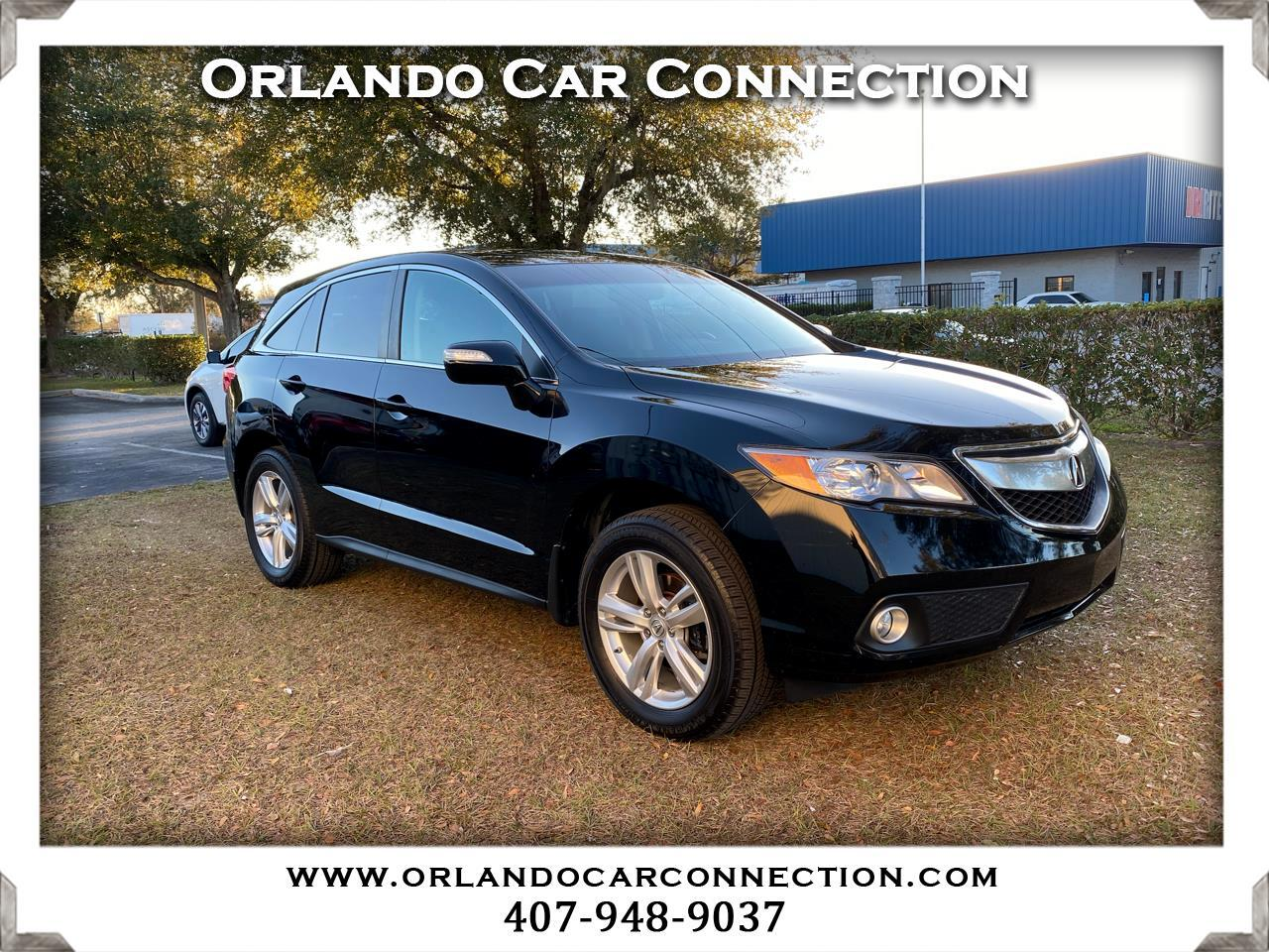 Used 2014 Acura Rdx 6 Spd At W Technology Package For Sale In Orlando Fl 34787 Orlando Car Connection