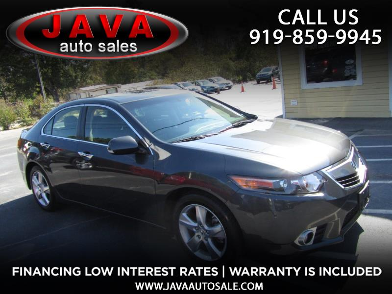 2012 Acura TSX With Tech Package