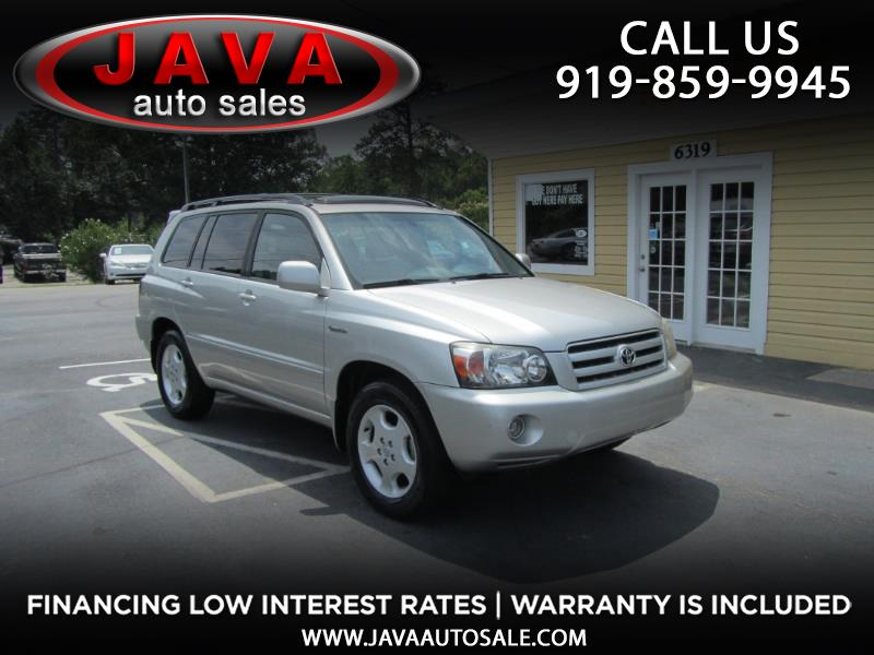 2005 Toyota Highlander V6 2WD with 3rd-Row Seat