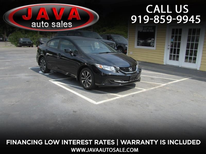 2013 Honda Civic EX sedan AT