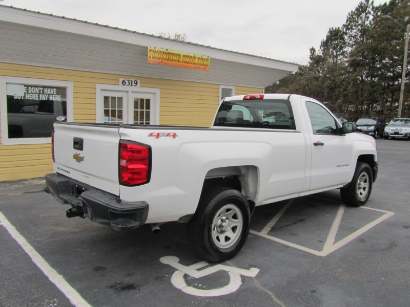 2014 Chevrolet Silverado 1500 Work Truck 1WT Regular Cab 4WD