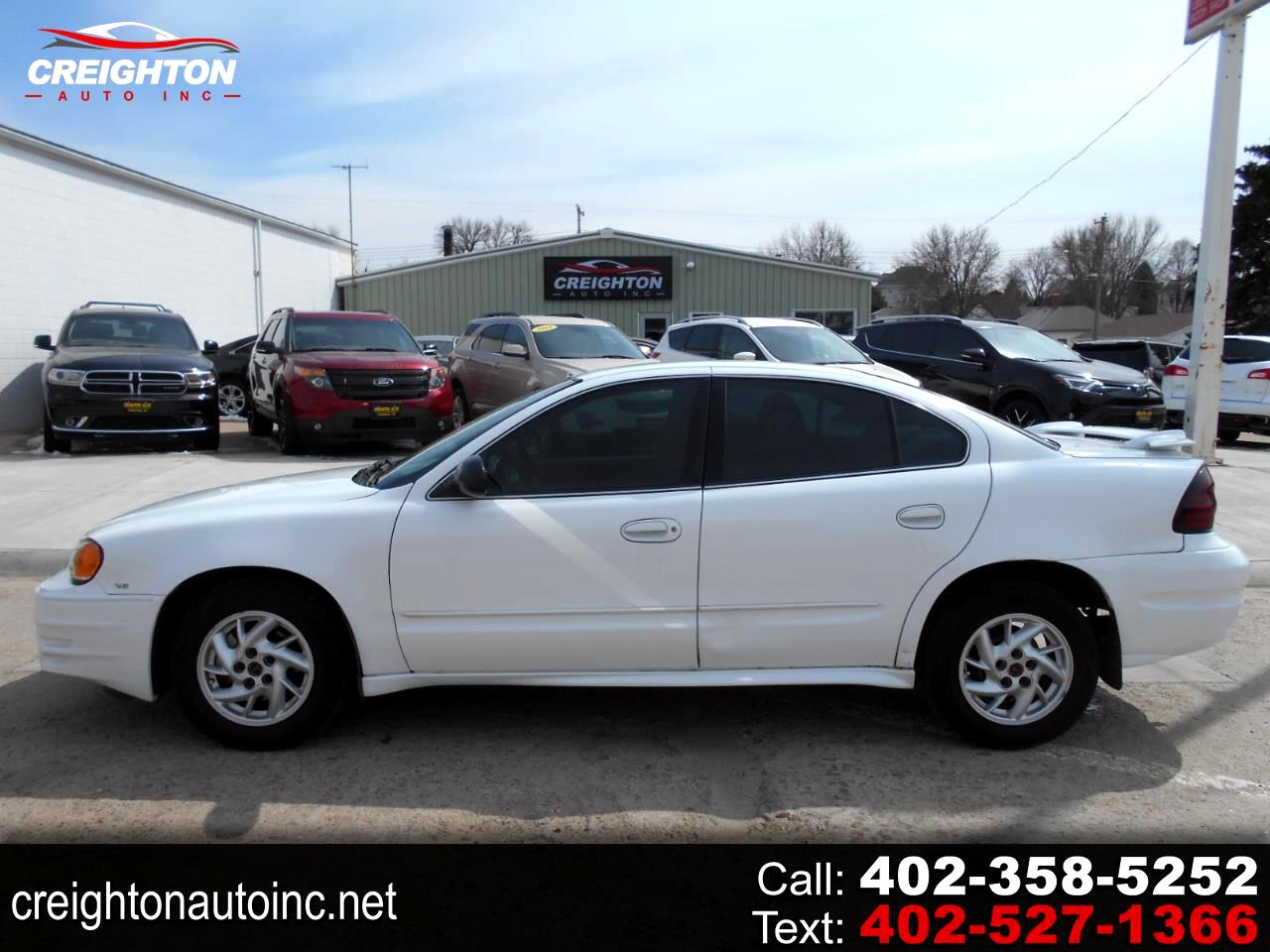 Pontiac Grand Am SE1 sedan 2004