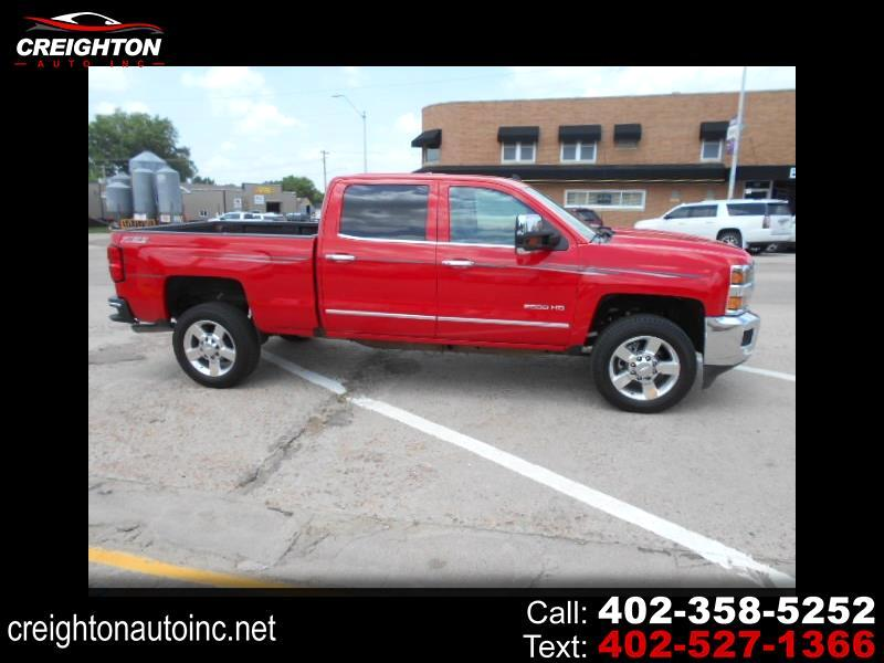 2016 Chevrolet Silverado 2500HD LTZ Crew Cab Short Box 4WD