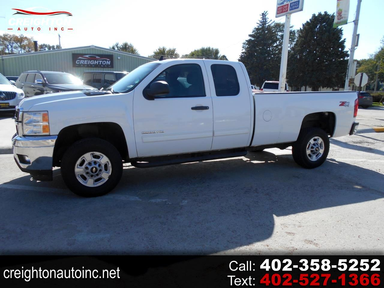 2012 Chevrolet Silverado 2500HD LT Ext. Cab Long Box 4WD