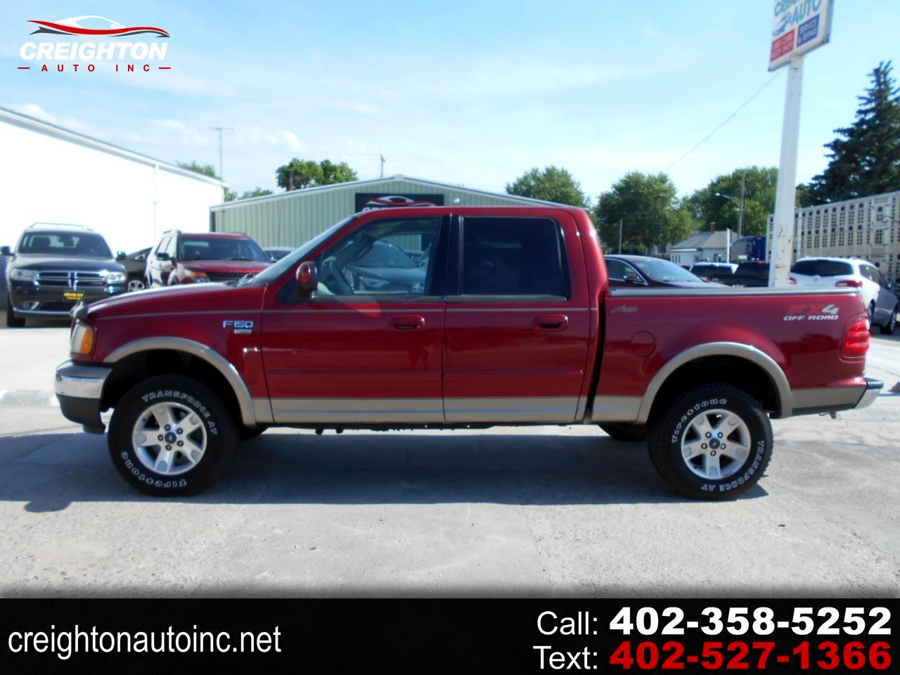Ford F-150 King Ranch SuperCrew Short Bed 4WD 2002