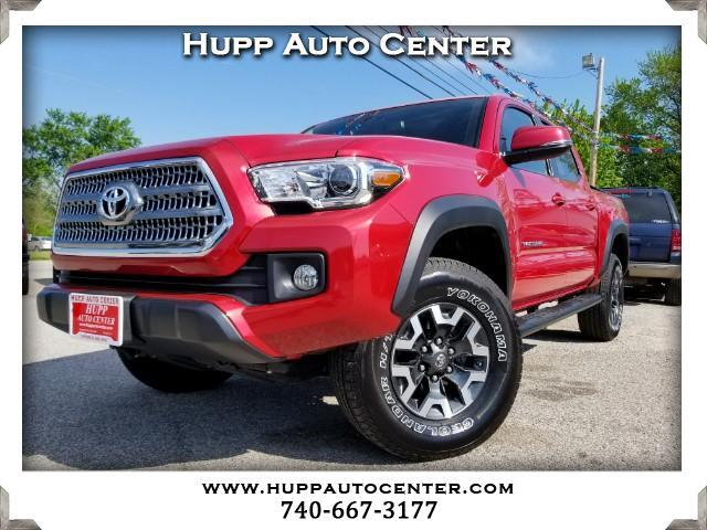 2017 Toyota Tacoma TRD Off Road Double Cab 5' Bed V6 4x4 AT (Natl)