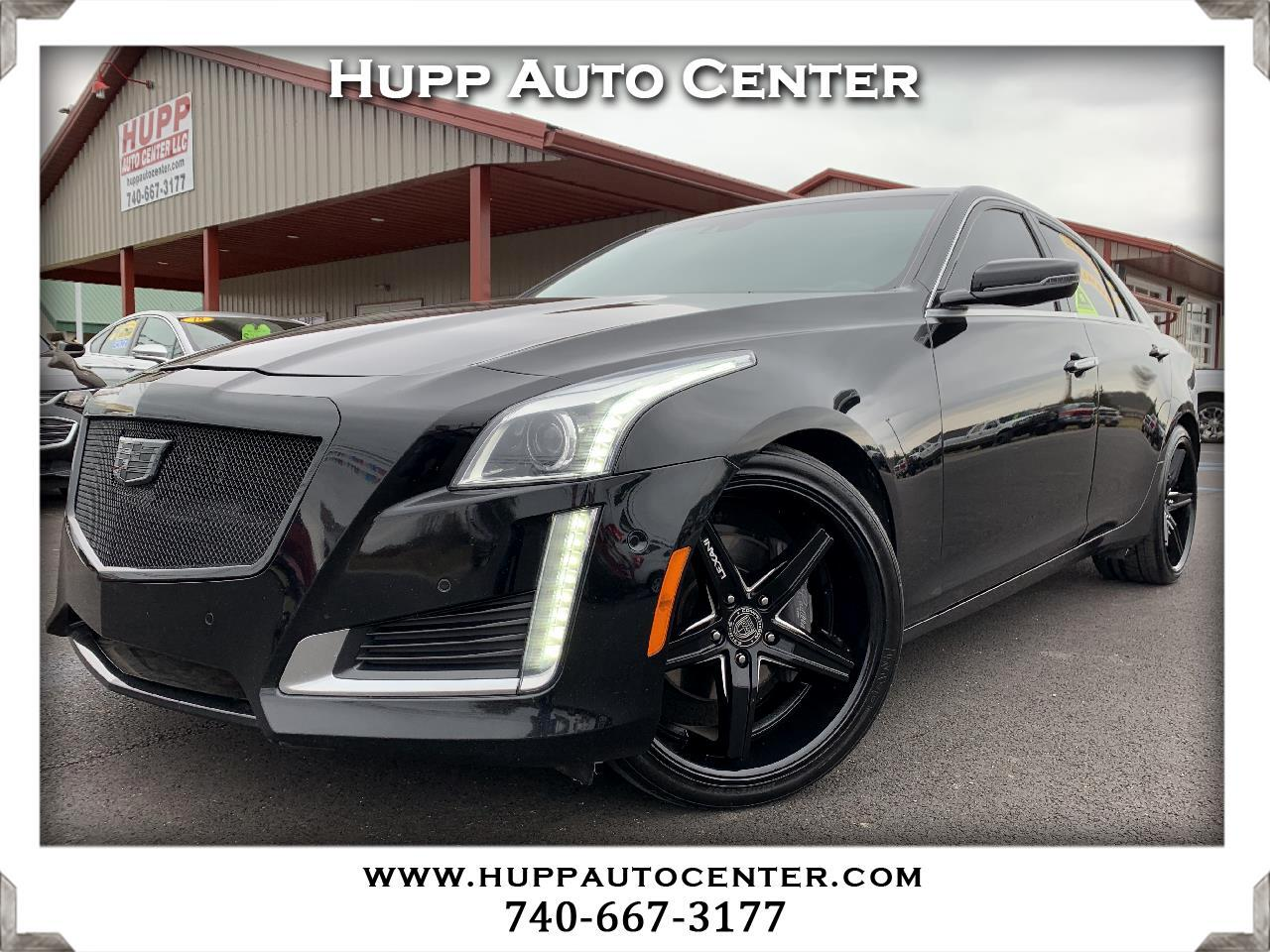 Cadillac CTS 2.0L Turbo Performance AWD 2014