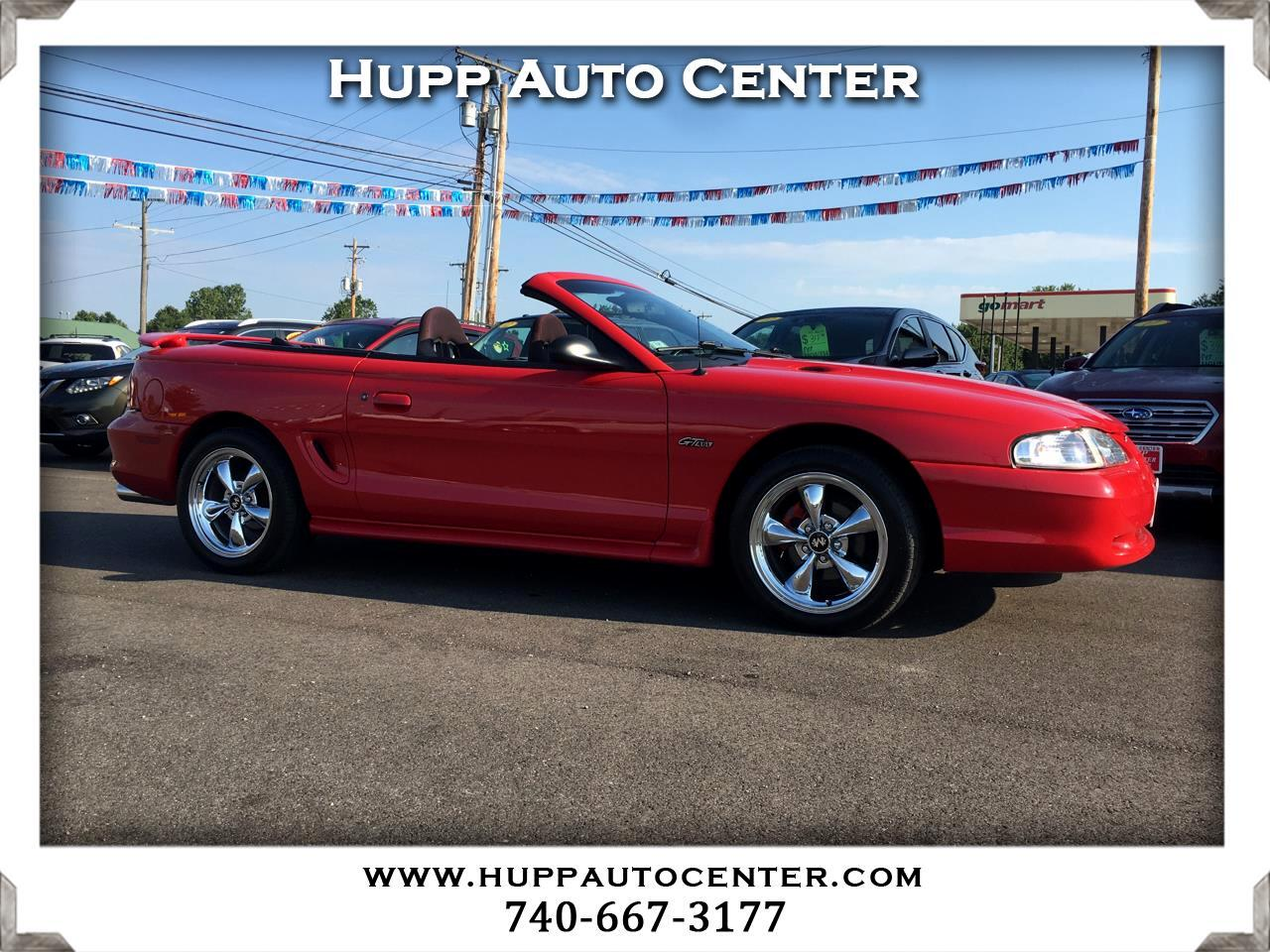 Ford Mustang GT convertible 1998