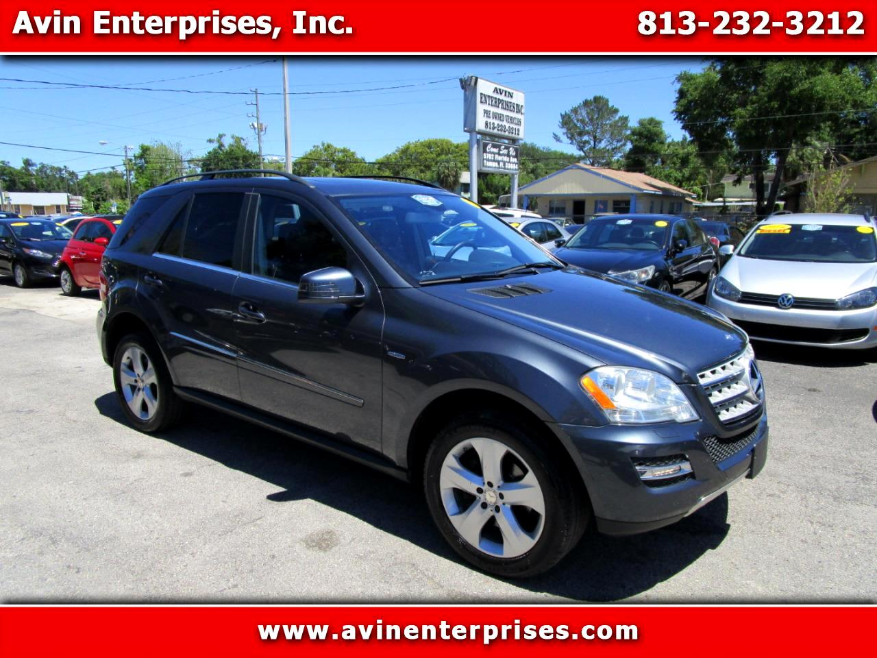 2011 Mercedes-Benz M-Class ML350 BlueTEC