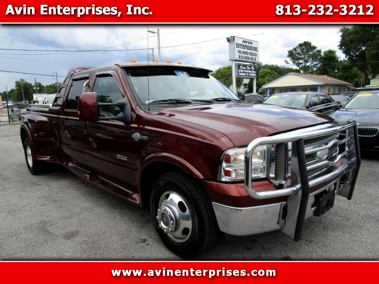 2006 Ford F-350 SD King Ranch Crew Cab 2WD DRW