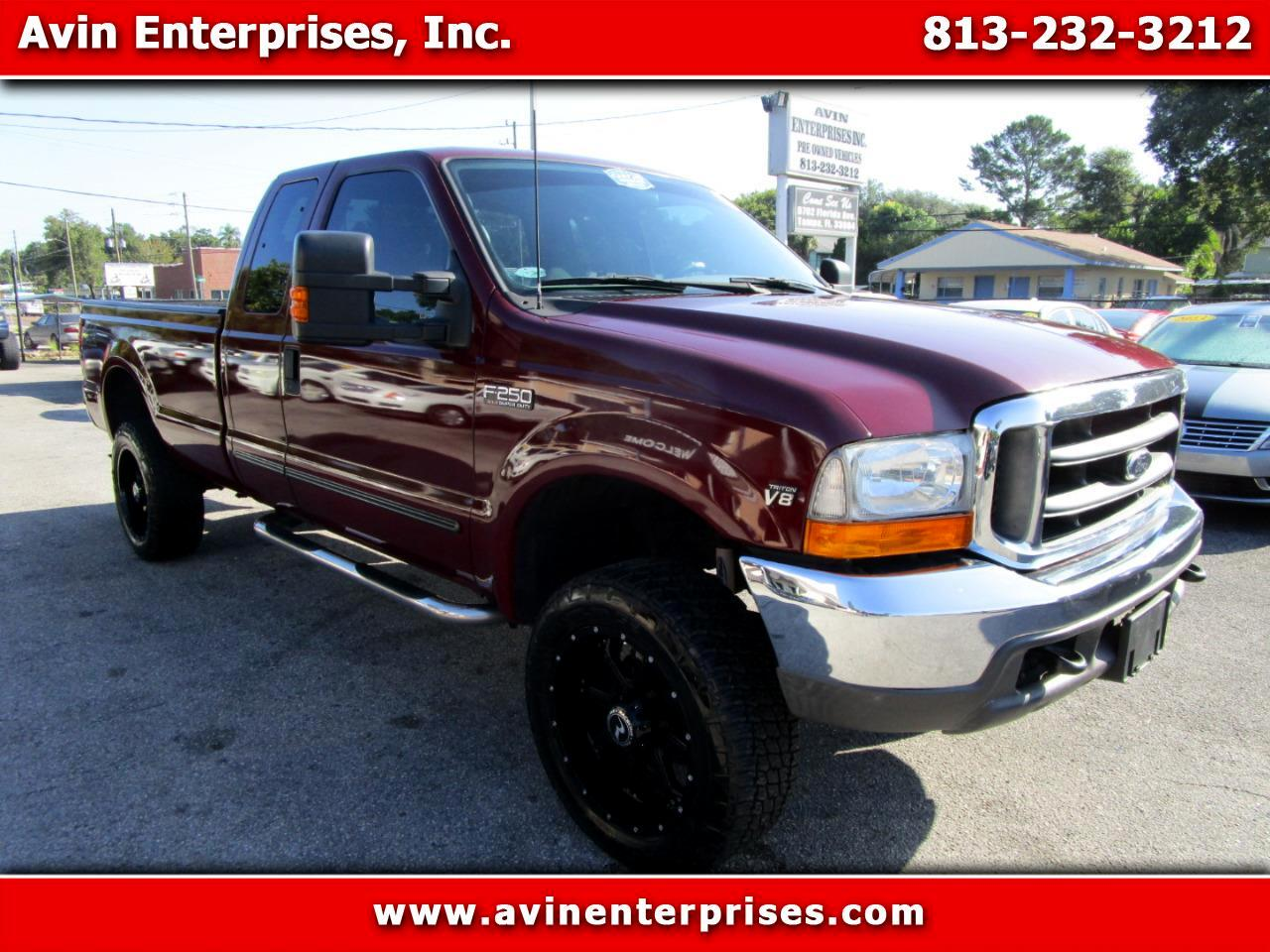 2000 Ford F-250 SD XLT SuperCab Long Bed 4WD