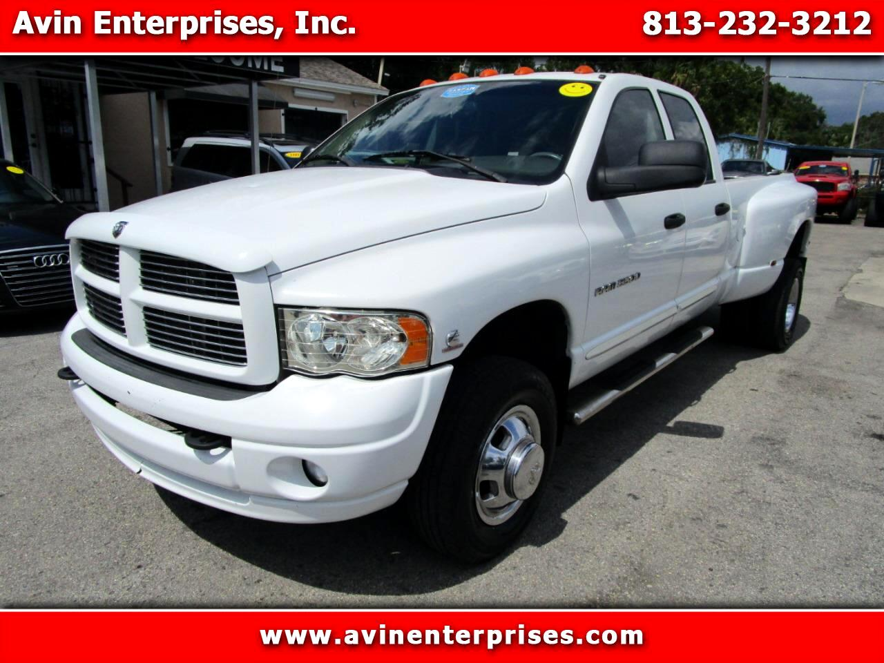 Dodge Ram 3500 Laramie Quad Cab Long Bed 4WD DRW 2005