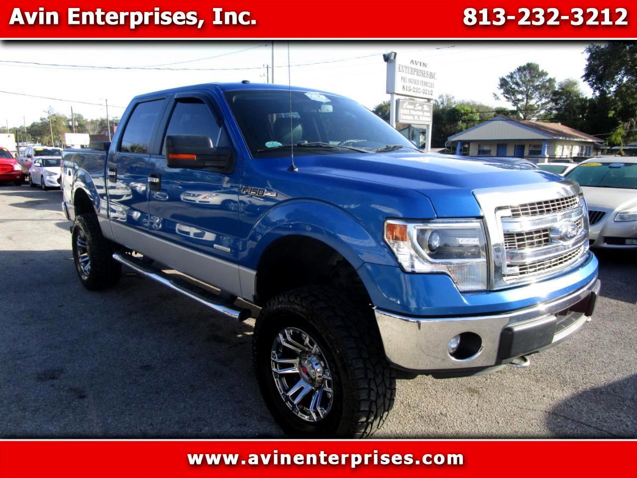 Ford F-150 XLT 4x4 SuperCrew 2014