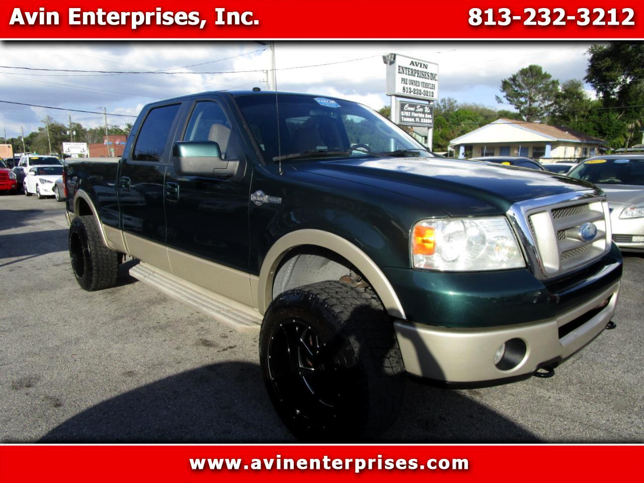 "Ford F-150 4WD SuperCrew 157"" King Ranch 2007"