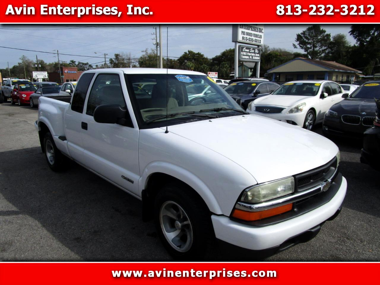 Chevrolet S10 Pickup Ext. Cab 2WD 2002
