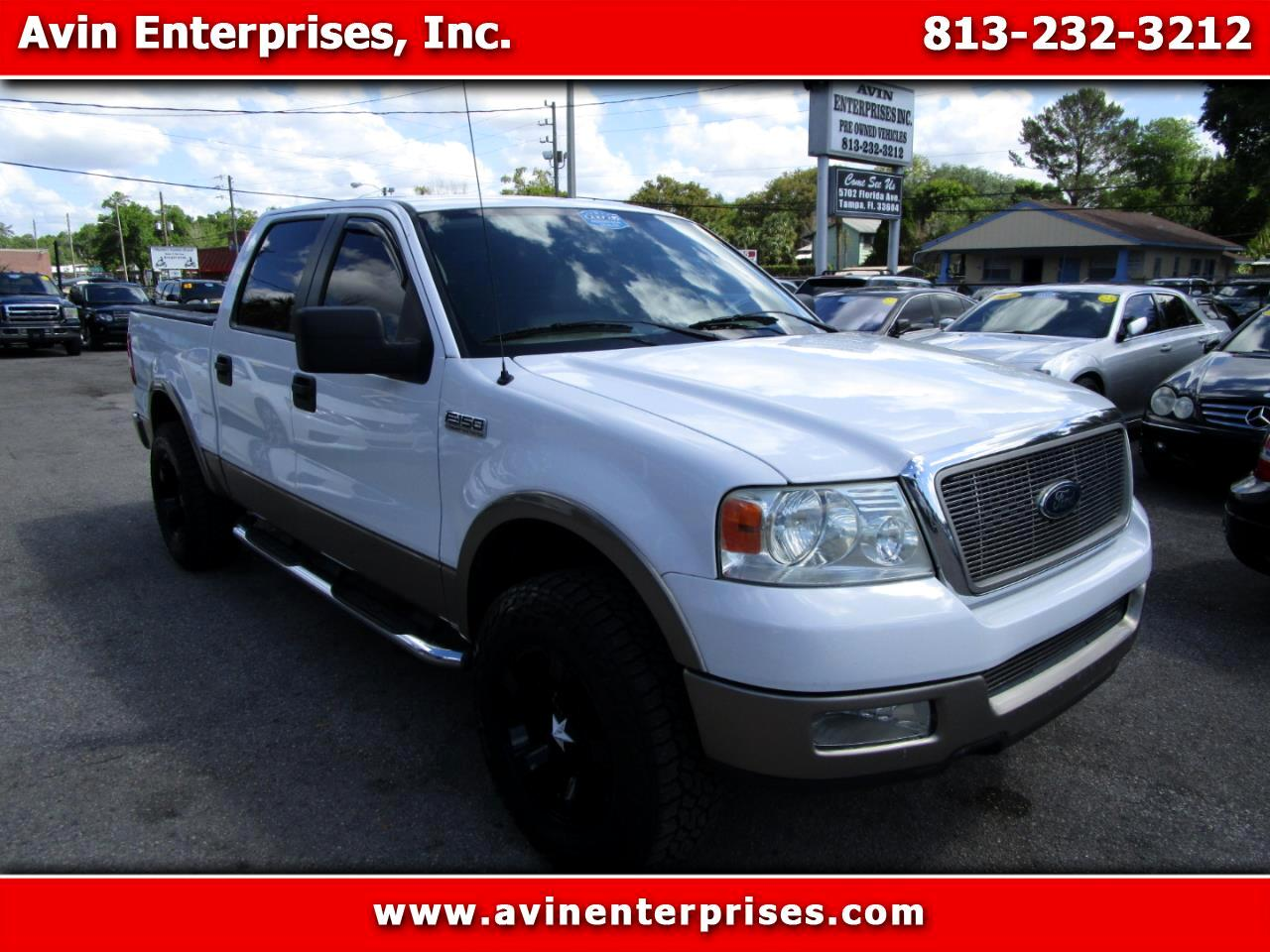 Ford F-150 Lariat SuperCrew Short Bed 2WD 2005