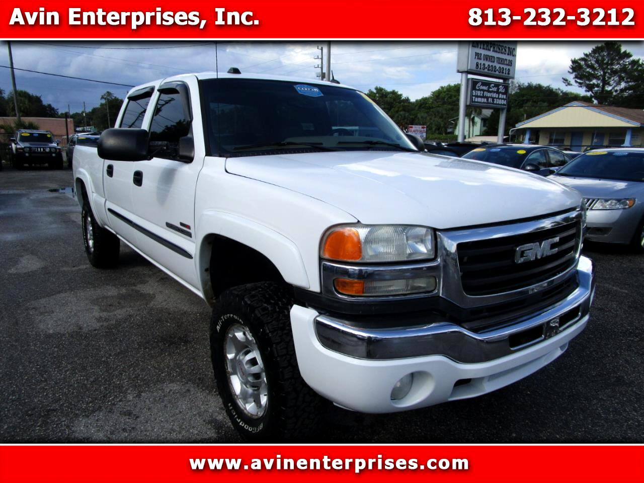 GMC Sierra 2500HD SLT Crew Cab Short Bed 4WD 2005
