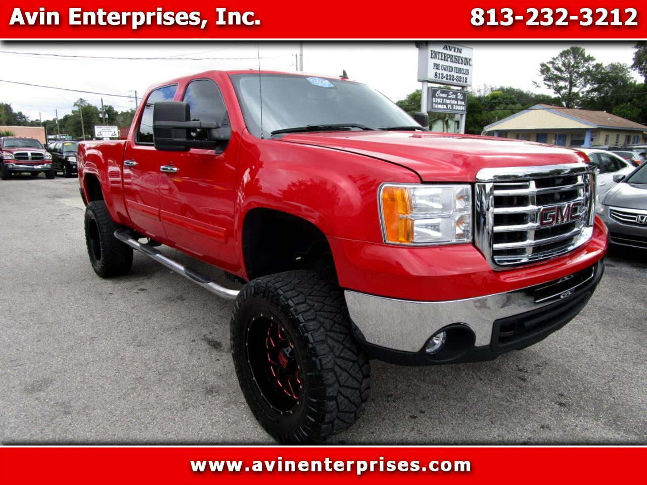 GMC Sierra 2500HD SLE2 Crew Cab Std. Box 2WD 2008