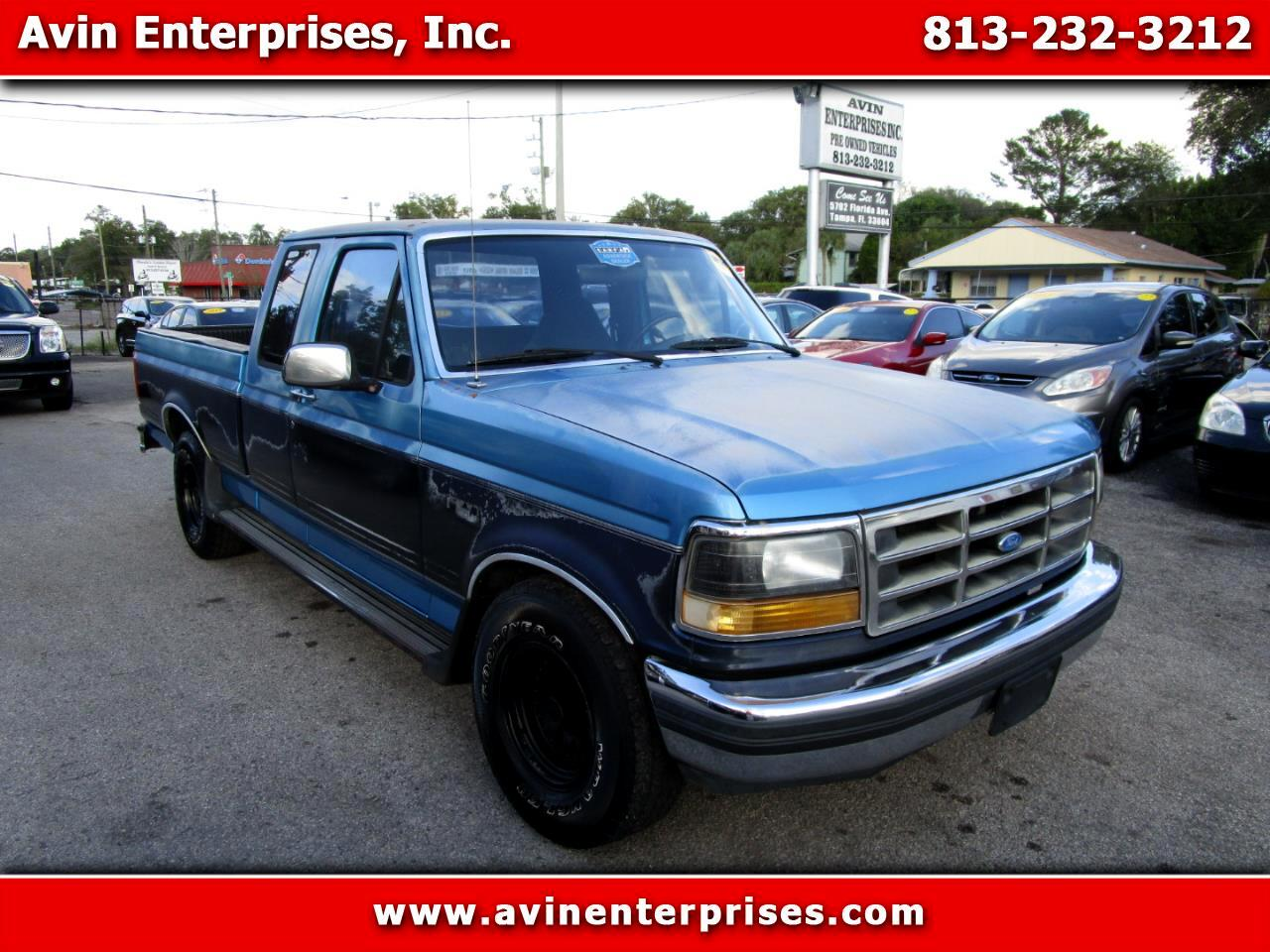 Ford F-150 S SuperCab Short Bed 2WD 1992