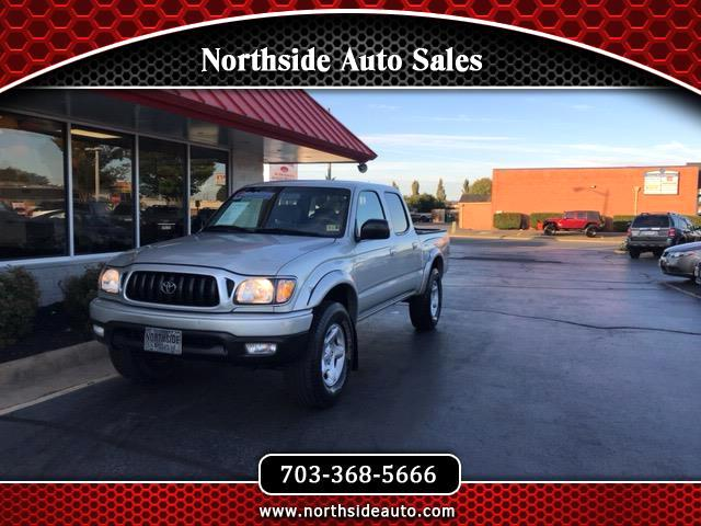 2004 Toyota Tacoma TRD Off Road Double Cab 5' Bed V6 4x4 AT (Natl)