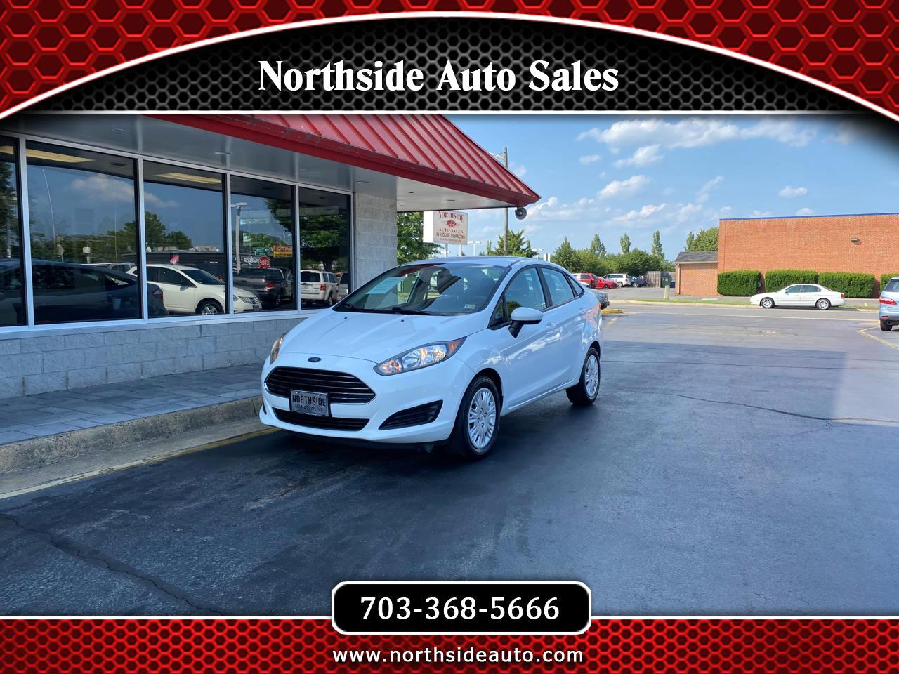 Ford Fiesta 4dr Sdn S 2015