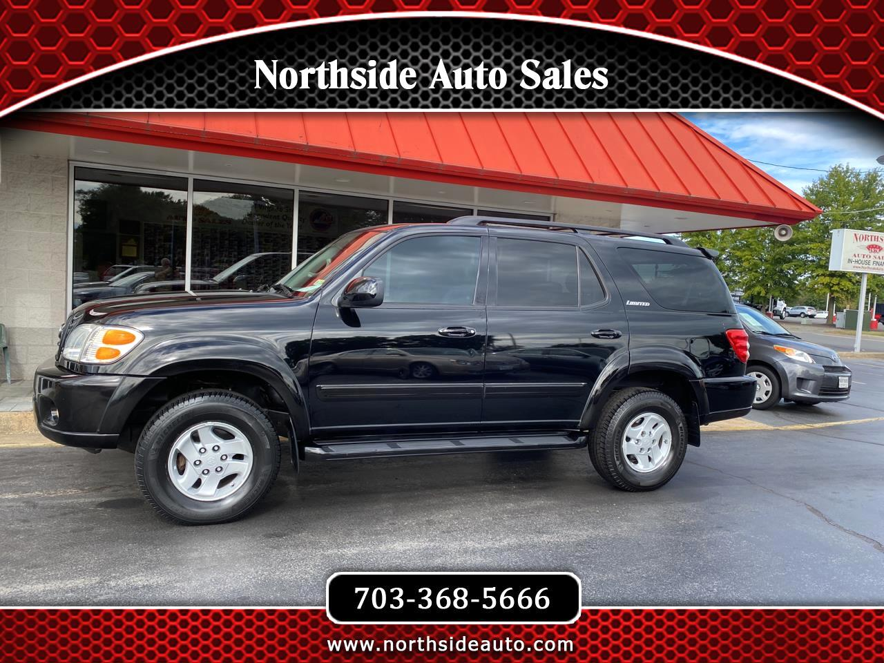Toyota Sequoia 4dr Limited 4WD (Natl) 2002