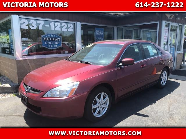 2003 Honda Accord EX V6 sedan AT