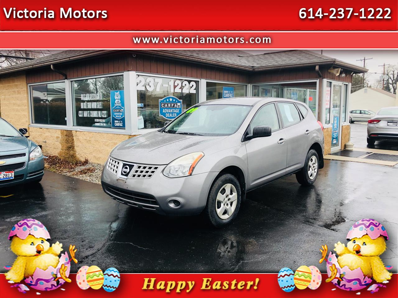 2009 Nissan Rogue FWD 4dr S