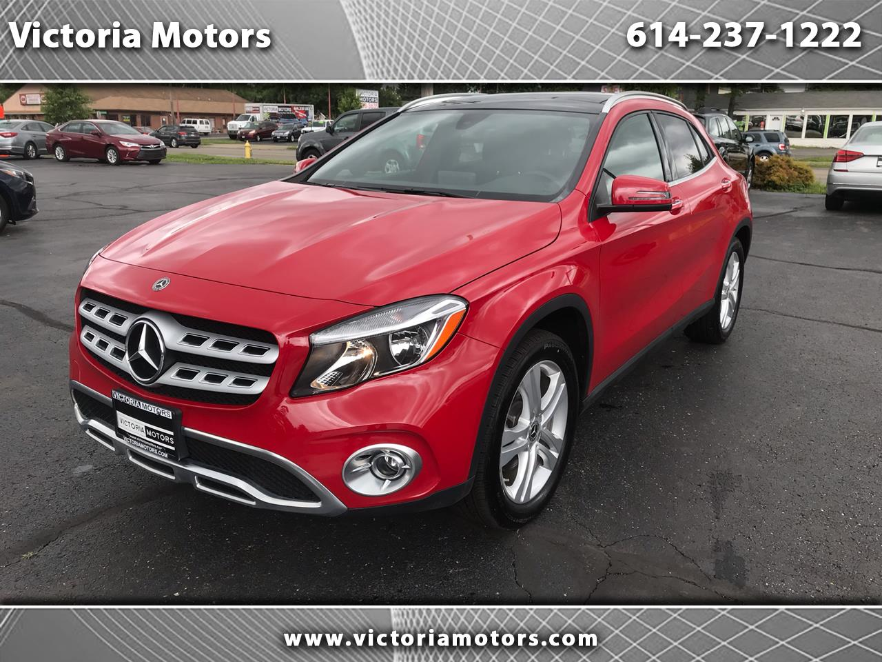 2018 Mercedes-Benz GLA 4MATIC 4dr GLA 250