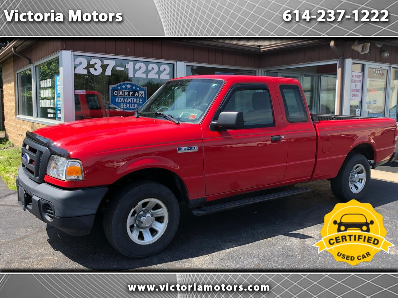 "2010 Ford Ranger 2WD 2dr SuperCab 126"" XL"