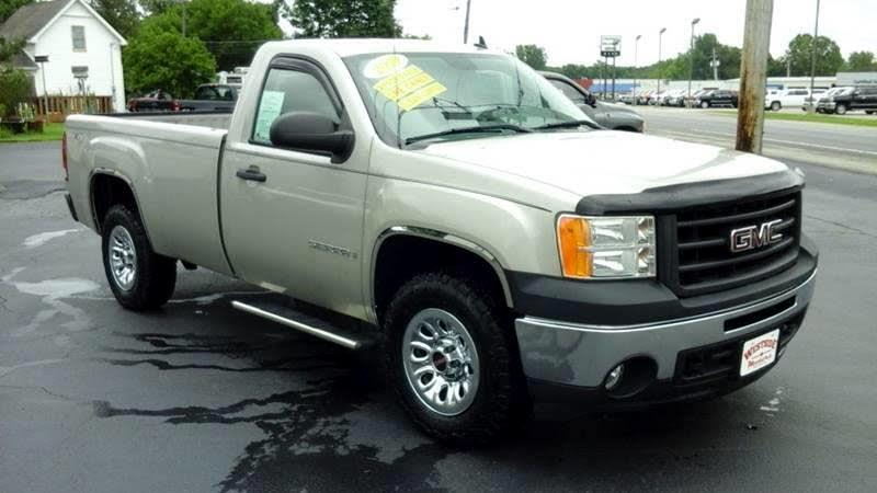 GMC Sierra 1500 Work Truck Long Box 4WD 2009