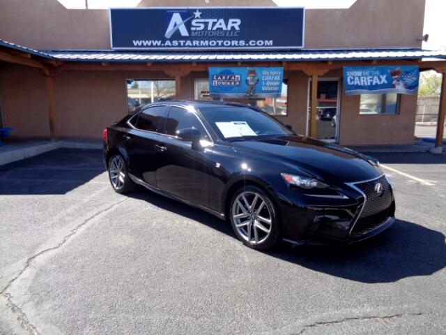2015 Lexus IS 250 4dr Sport Sdn Auto