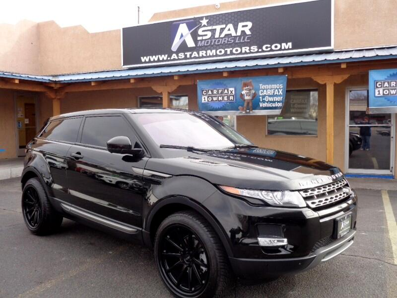 2015 Land Rover Range Rover Evoque Pure Premium 3-Door