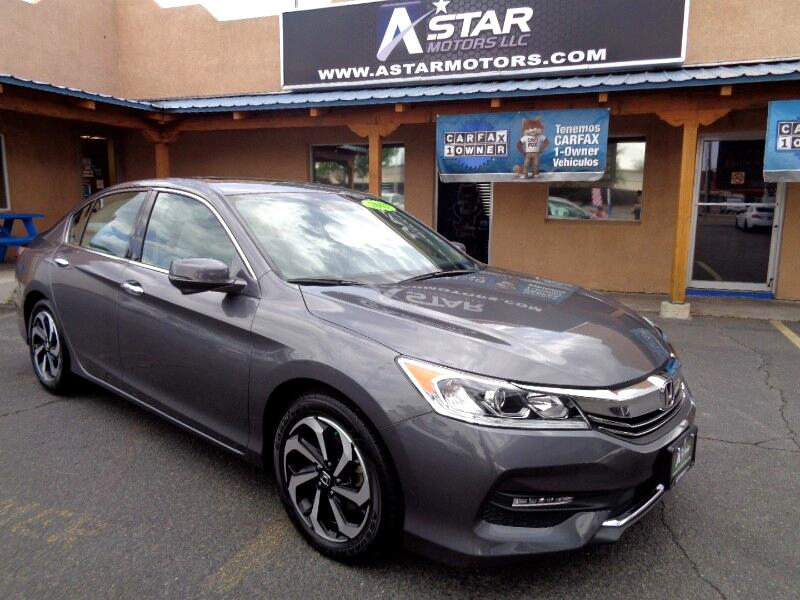 2017 Honda Accord EX-L Sedan V6 CVT w/ Honda Sensing 6-Spd AT