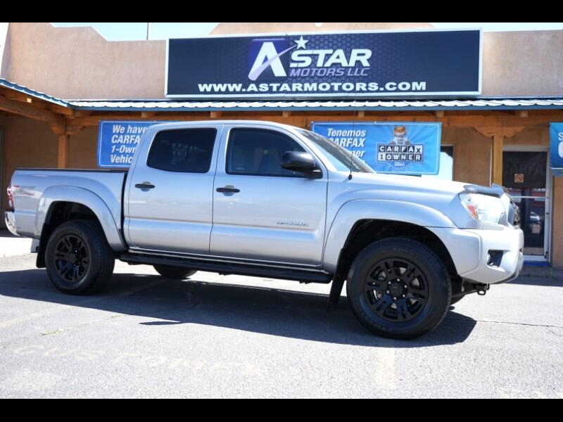 Toyota Tacoma PreRunner Double Cab V6 5AT 2WD 2015